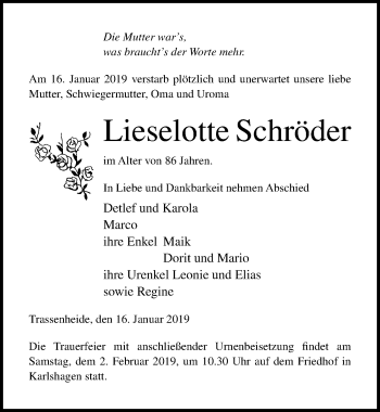 Lieselotte Schröder