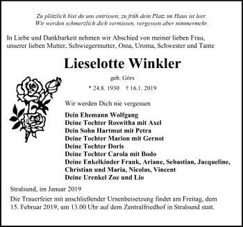 Lieselotte Winkler
