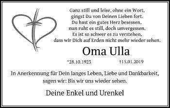 Oma Ulla
