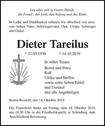 Dieter Tareilus