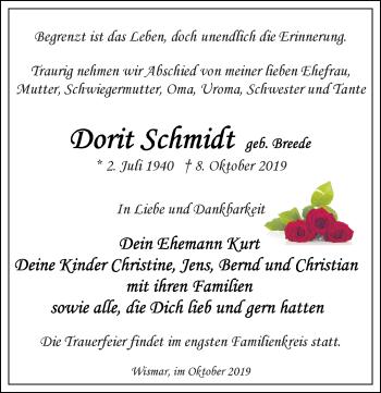 Dorit Schmidt