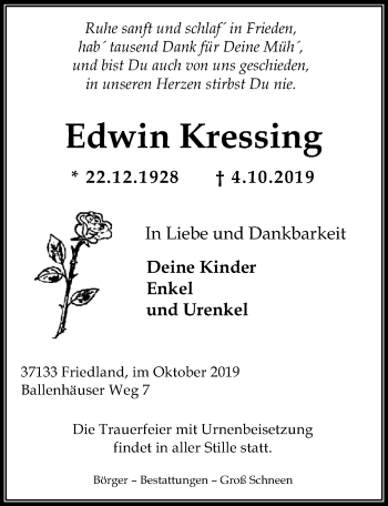 Edwin Kressing