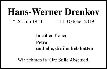 Hans-Werner Drenkov
