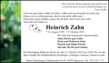 Heinrich Zahn
