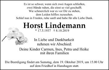 Horst Lindemann