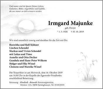 Irmgard Majunke
