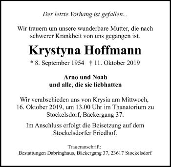 Krystyna Hoffmann
