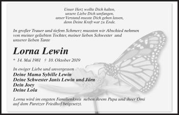 Lorna Lewin