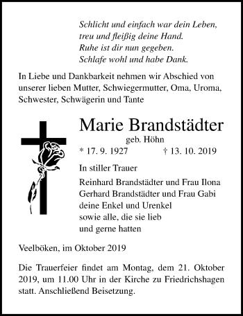 Marie Brandstädter
