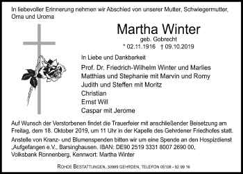 Martha Winter