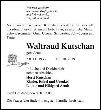 Waltraud Kutschan