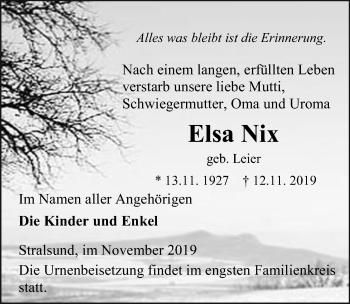 Elsa Nix