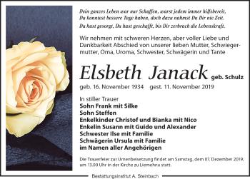Elsbeth Janack