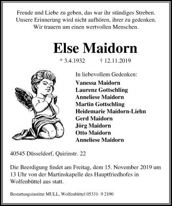 Else Maidorn