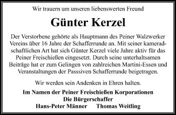 Günter Kerzel
