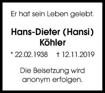 Hans-Dieter Köhler