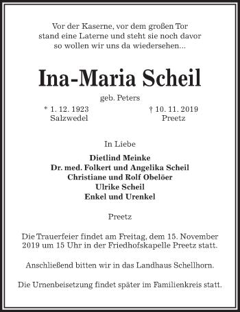 Ina-Maria Scheil