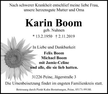 Karin Boom