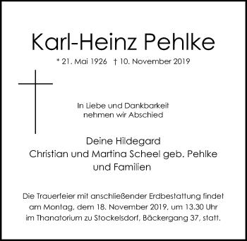 Karl-Heinz Pehlke