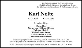 Kurt Nolte