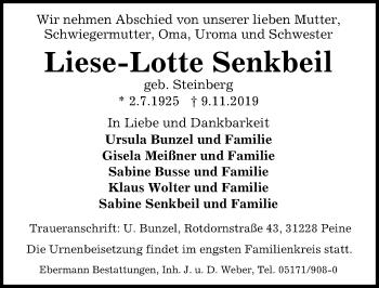 Liese-Lotte Senkbeil