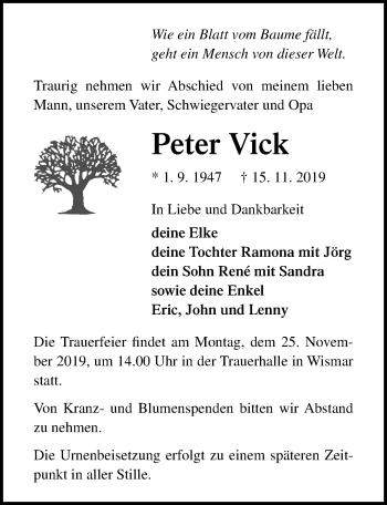 Peter Vick