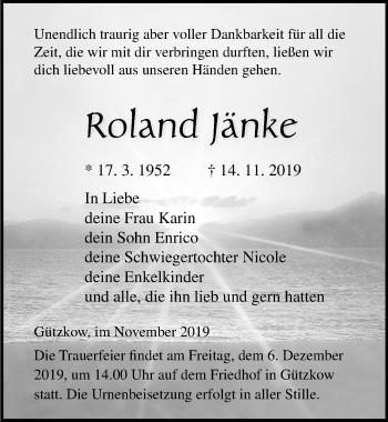 Roland Jänke