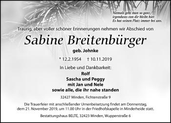 Sabine Breitenbürger