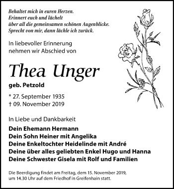 Thea Unger
