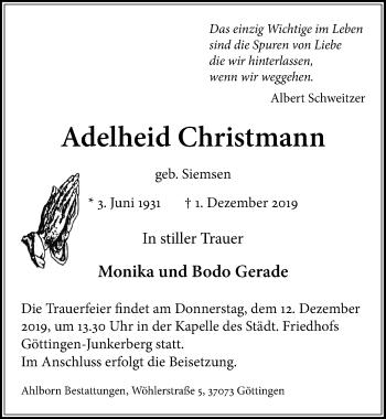 Adelheid Christmann