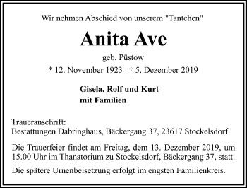 Anita Ave