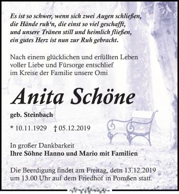Anita Schöne