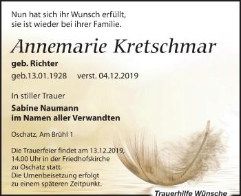 Annemarie Kretschmar