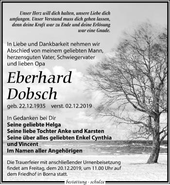 Eberhard Dobsch