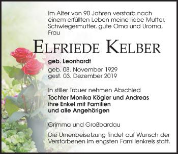 Elfriede Kelber