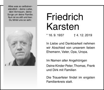 Friedrich Karsten