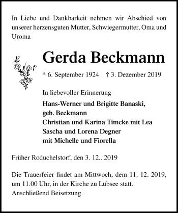 Gerda Beckmann