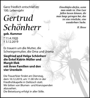 Gertrud Schönherr