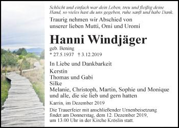 Hanni Windjäger