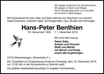 Hans-Peter Benthien
