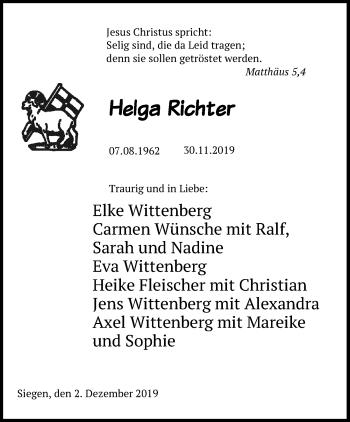 Helga Richter