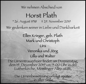 Horst Plath