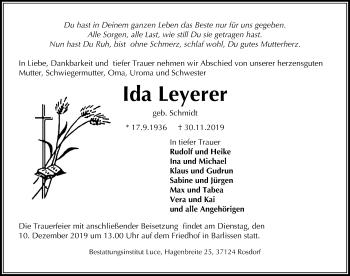 Ida Leyerer