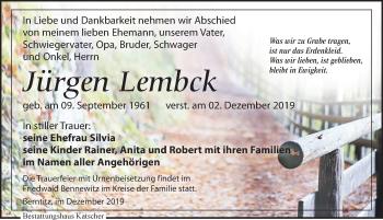 Jürgen Lembck