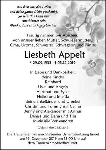 Liesbeth Appelt