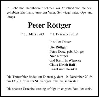 Peter Röttger