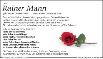 Rainer Mann