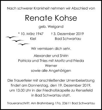 Renate Kohse