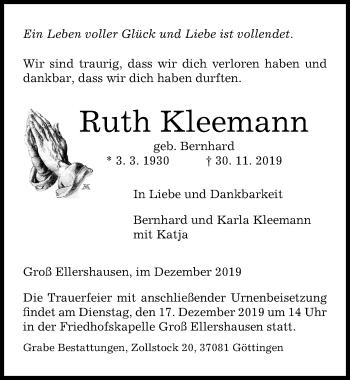 Ruth Kleemann