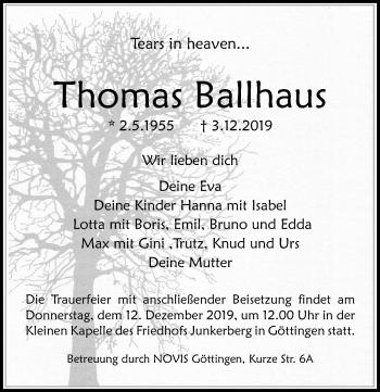 Thomas Ballhaus